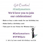 #Emilymatters – #VFWQuiz