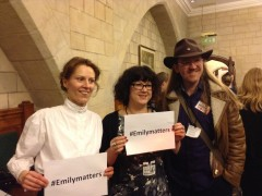 #Emilymatters – To Freedom's Cause & the Suffragette Legacy