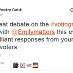 #votingmatters – Twitter chat 1 – Thank you!