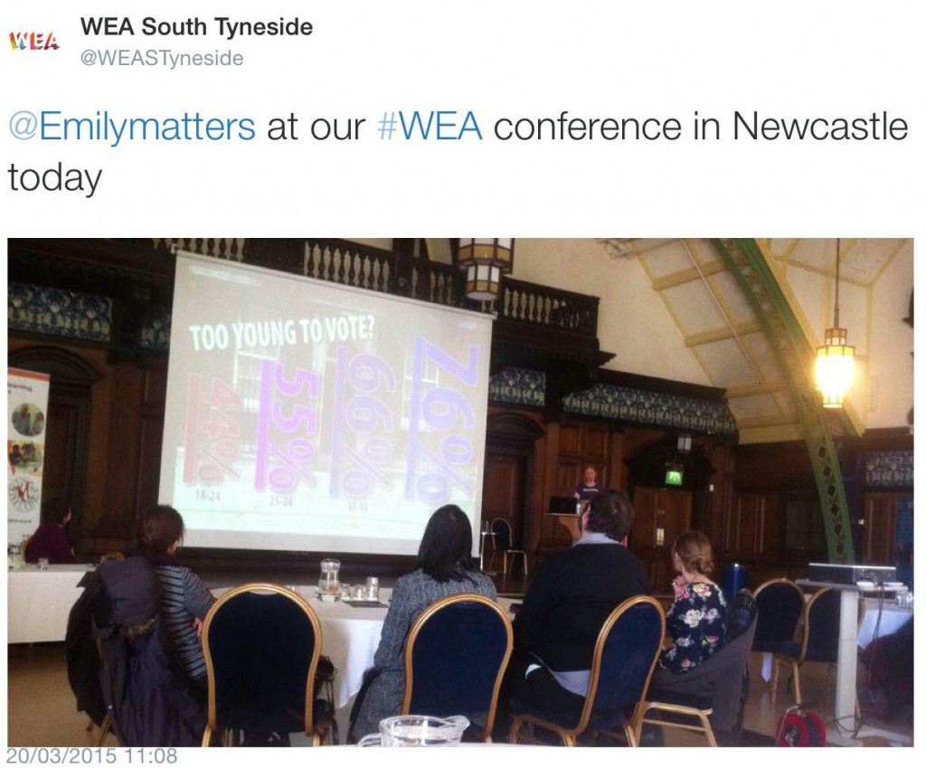 WEA_SthTyneside_Emilymatters_at conf_20Mar15