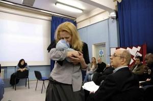 A FIVER'S WORTH OF COURAGE - HMP Brixton:  Newgate prisoner (Kate Willoughby); Photo: David Pearson; 2005